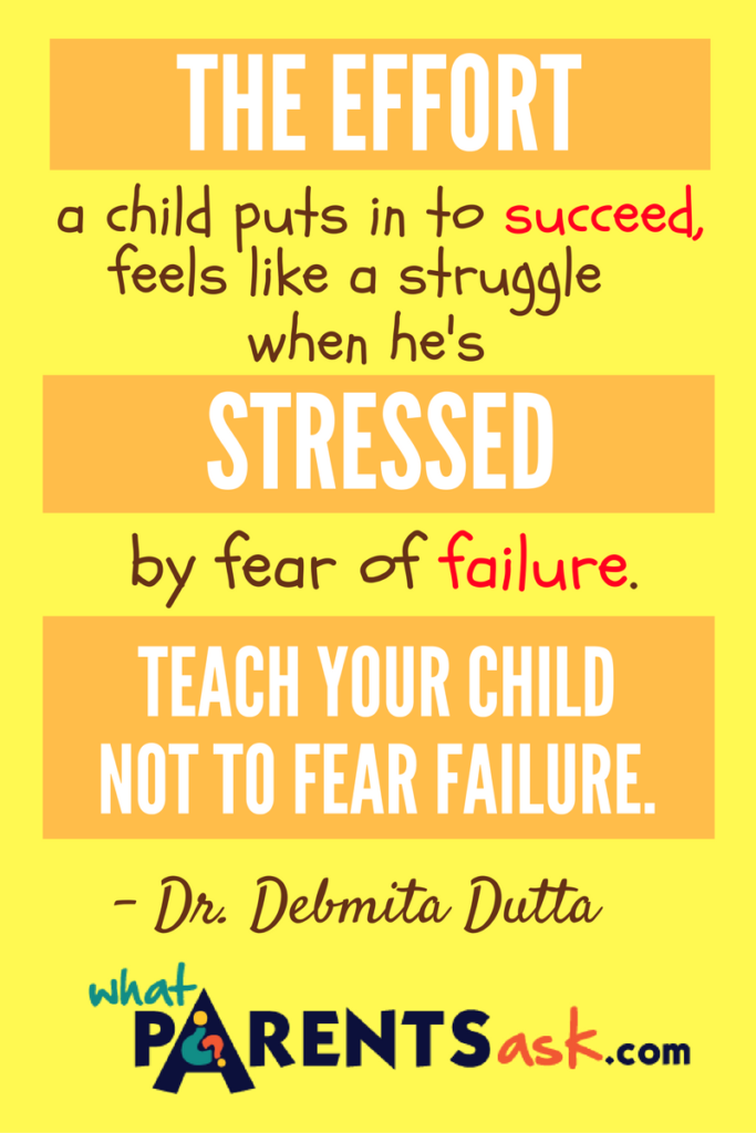 Effort is stressful when you fear failure