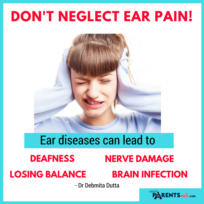 what does ear pain mean