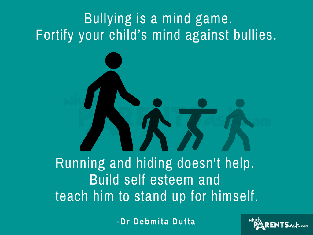 bullying in schools build your child's self-esteem