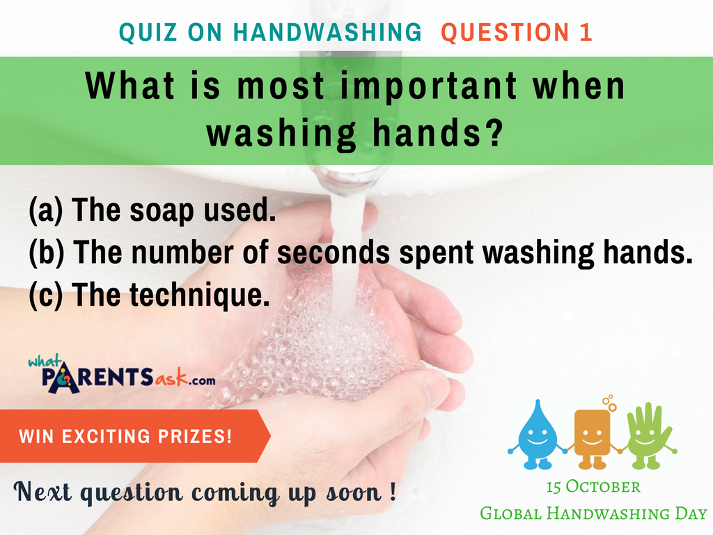 global handwashing day What is most important when washing hands