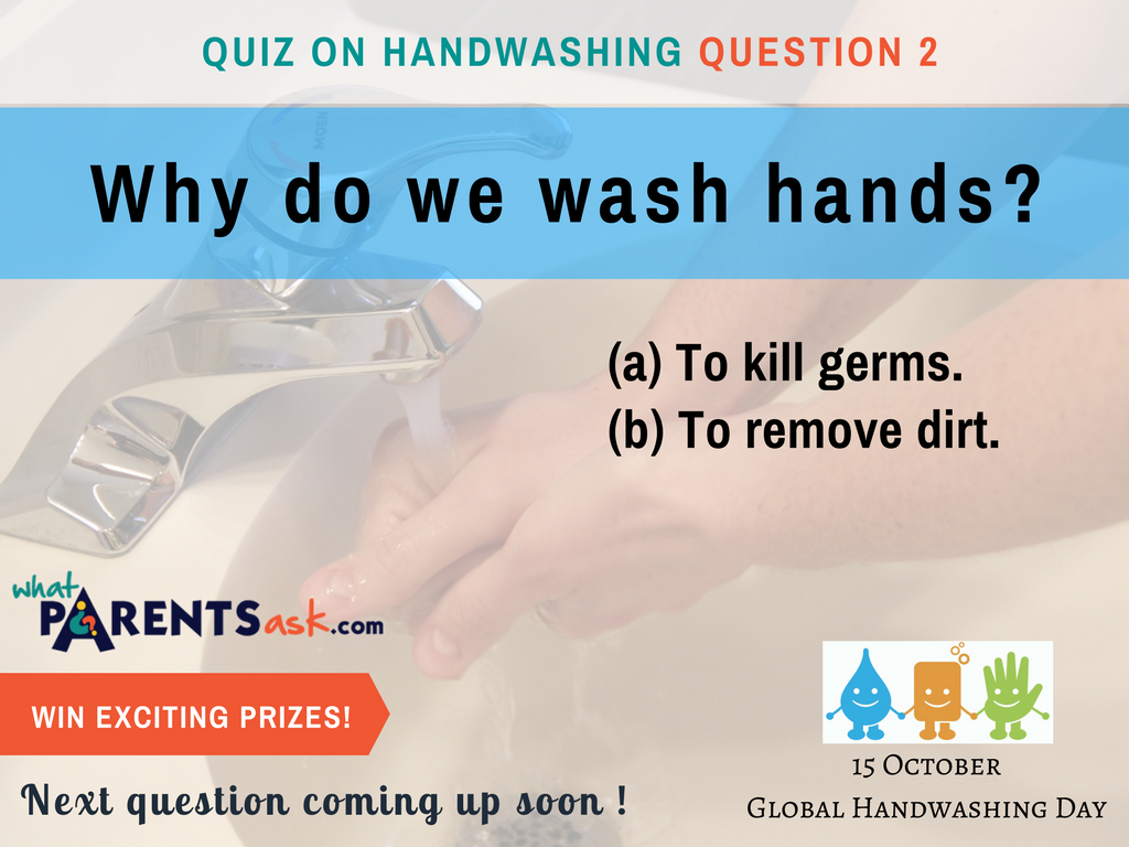 global handwashing day why do we wash hands