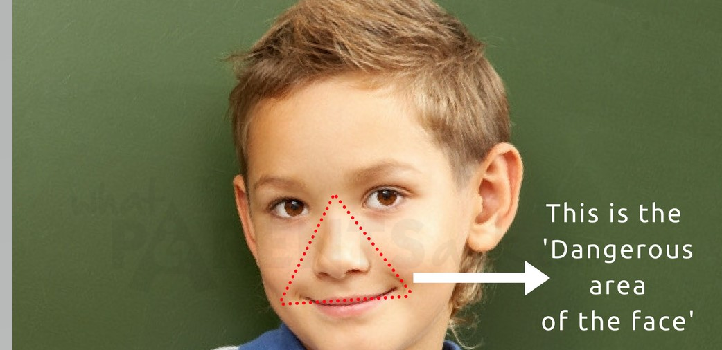 face infections can become brain infections