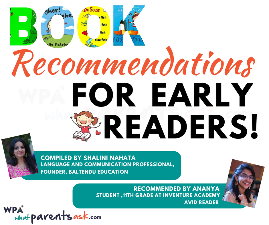 book recommendations for early readers