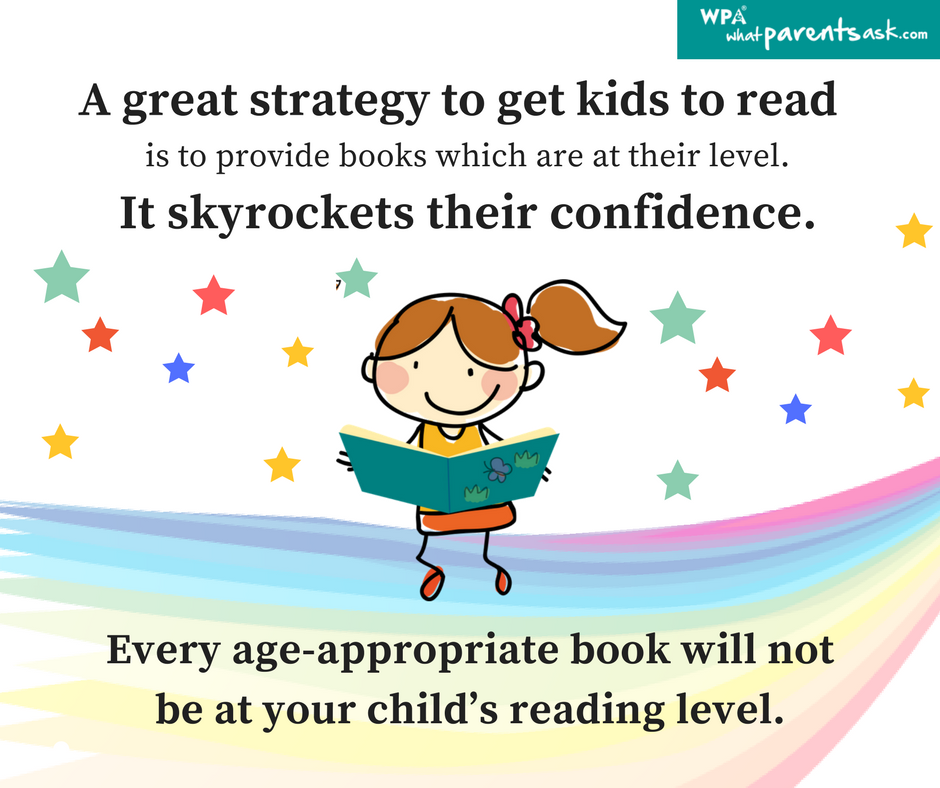 Choose books for early readers carefully