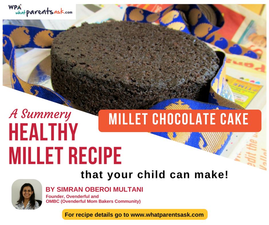 millet chocolate cake