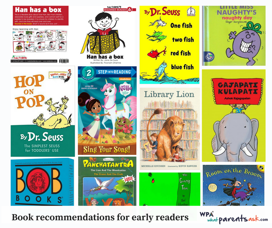 recommended books for children starting to read
