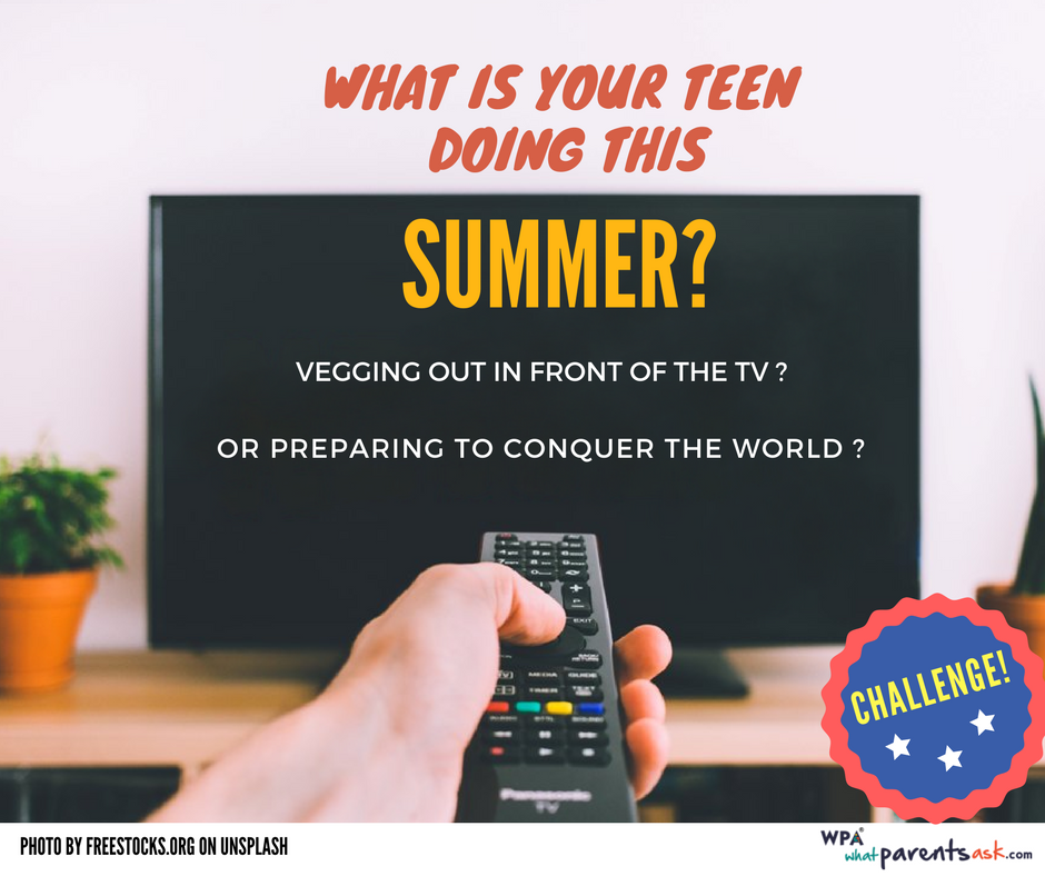 what should teens do this summer