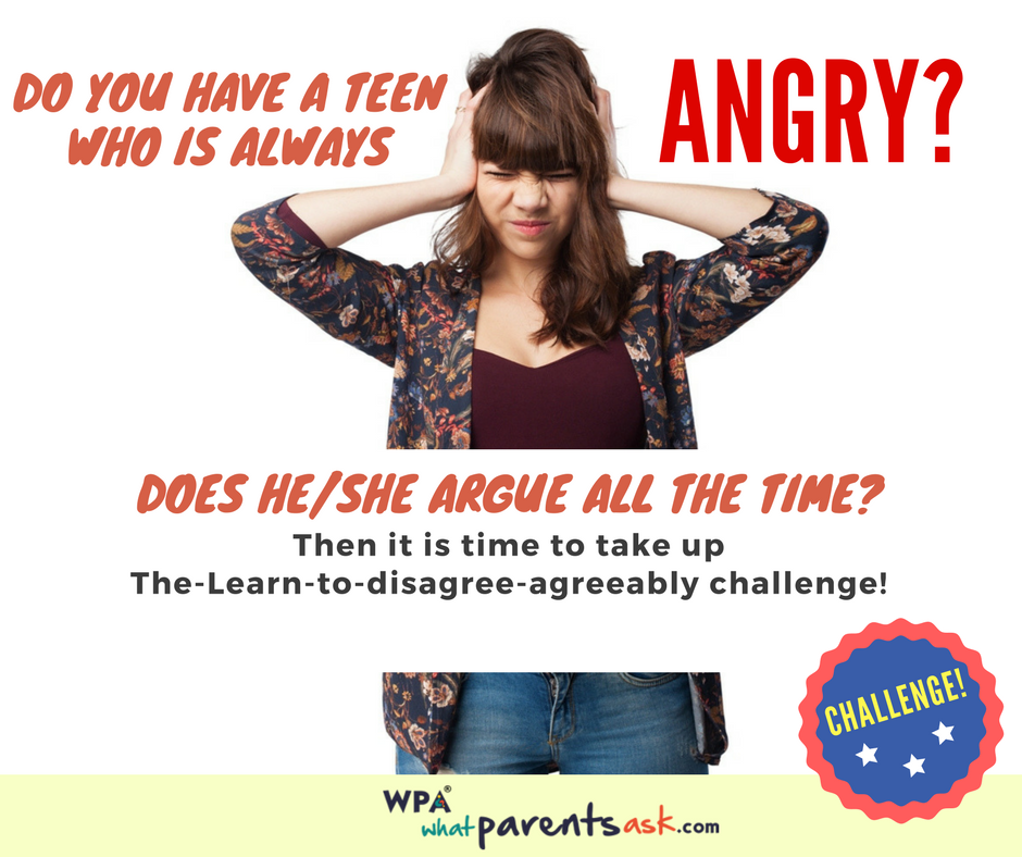 what to do if your teen is always angry