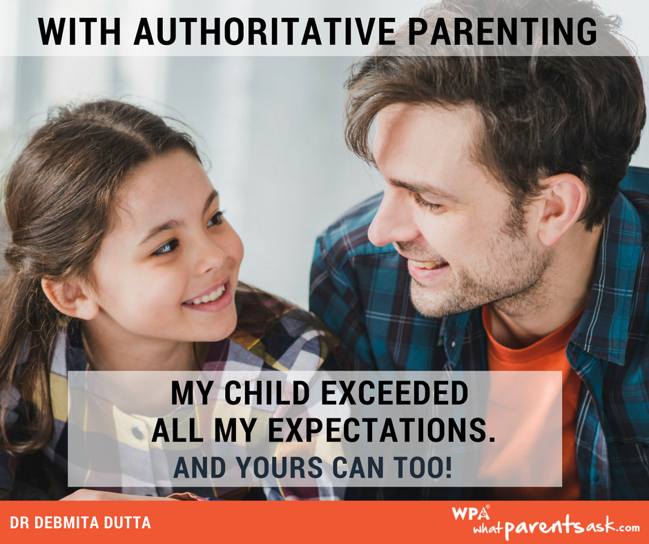 authoritative parenting helps children succeed
