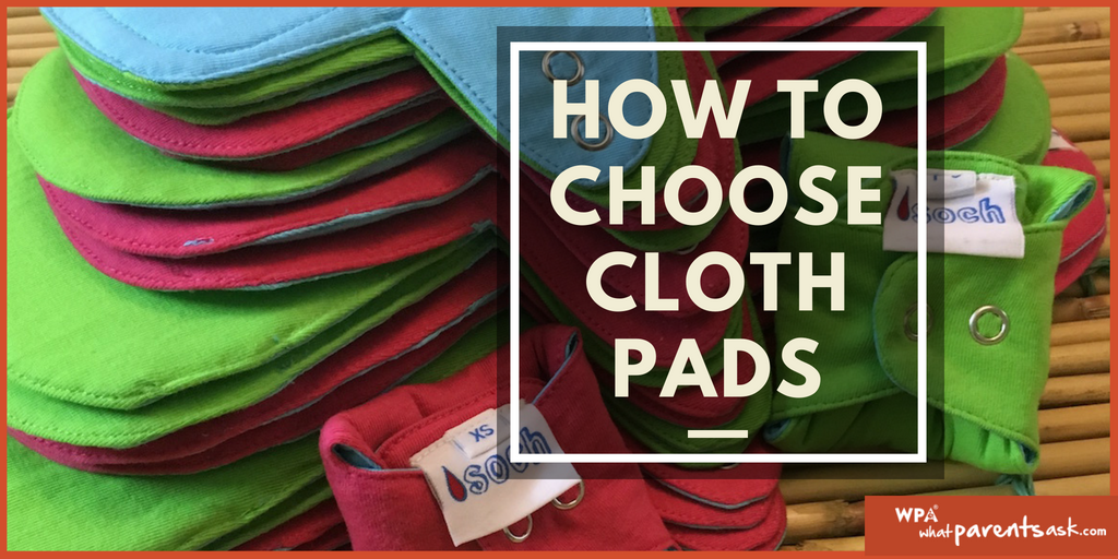 how to choose cloth pads