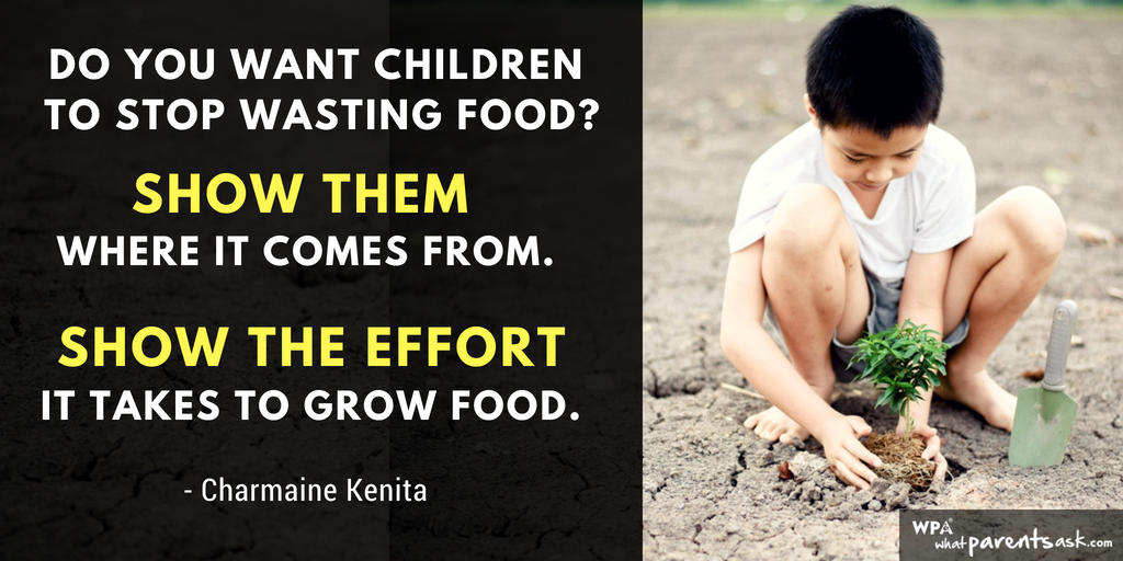 show the effort it take to grow food