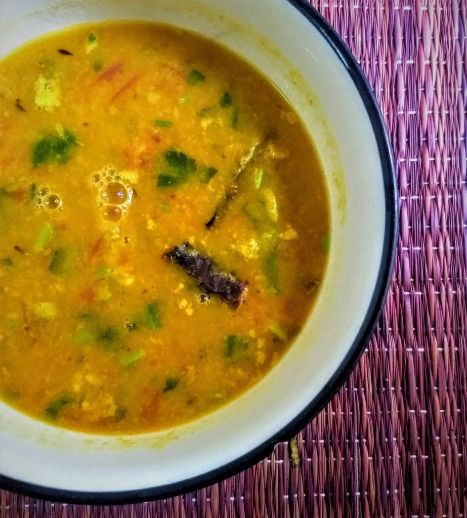 moong masoor dal monday menu
