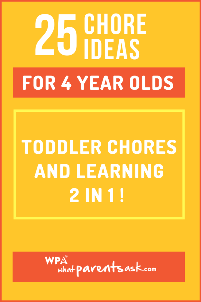 25 chores your toddler can do