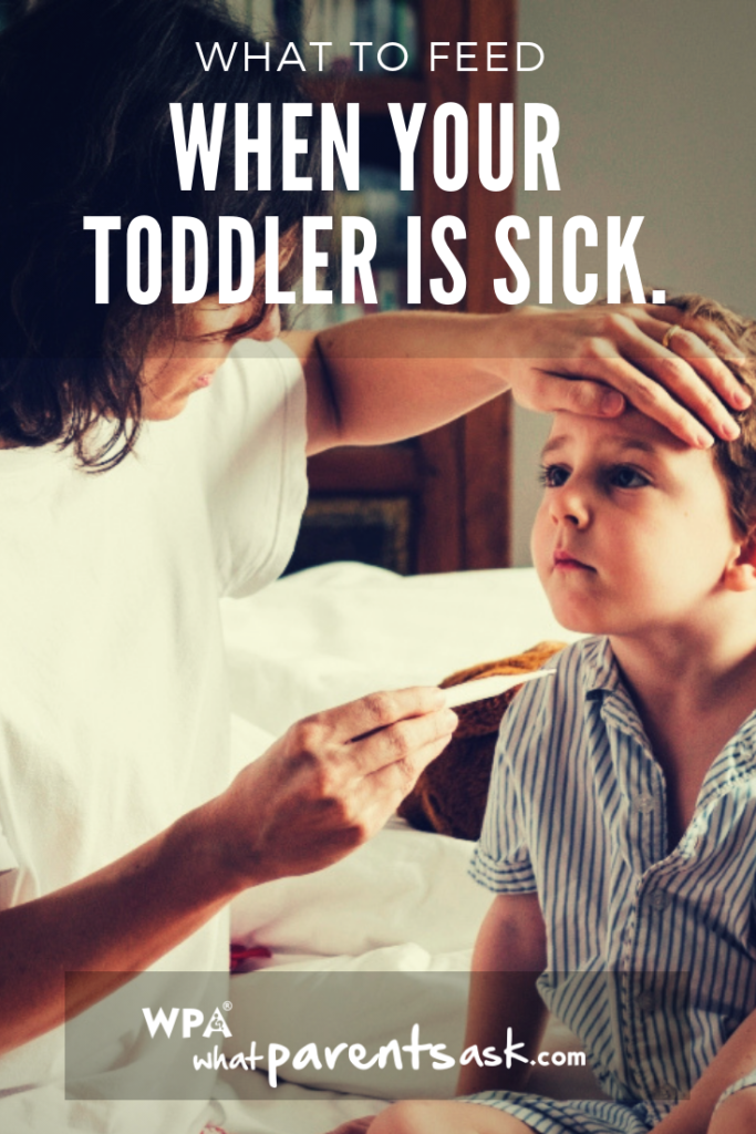 what should I feed my toddler during fever