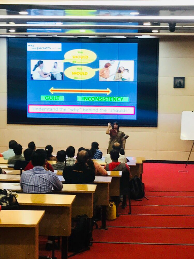 corporate parenting workshop in infosys bangalore