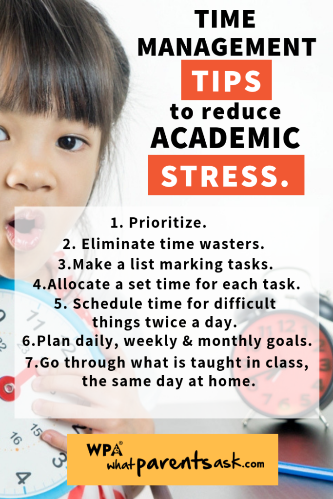 time management tips to handle academic pressure
