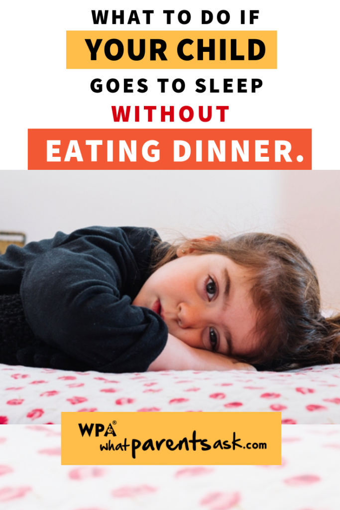 sleeping without dinner