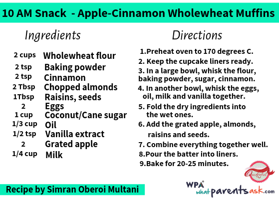 apple cinnamon wholewheat muffins cookhealthymealseveryday