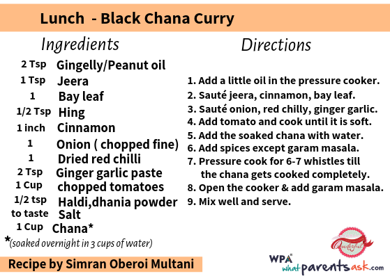 black chana curry cookhealthymealseveryday