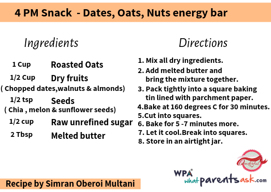 dates oats nuts energy bar cookhealthymealseveryday