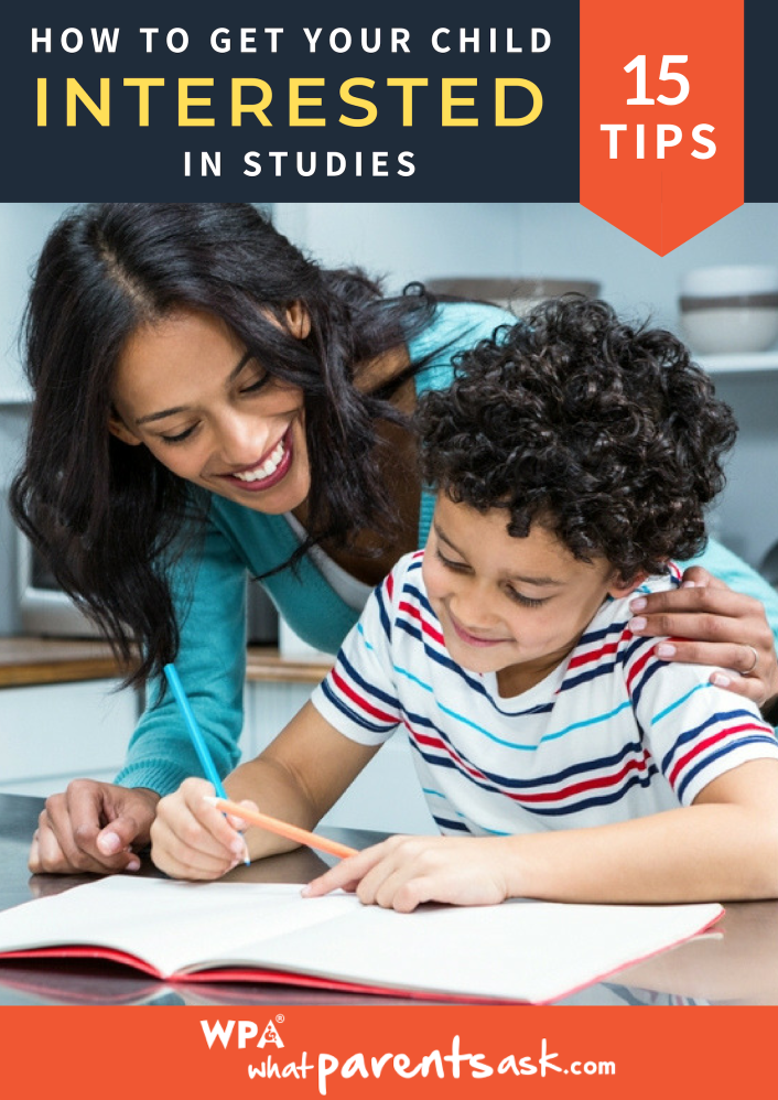 how can you get your child interested in studies
