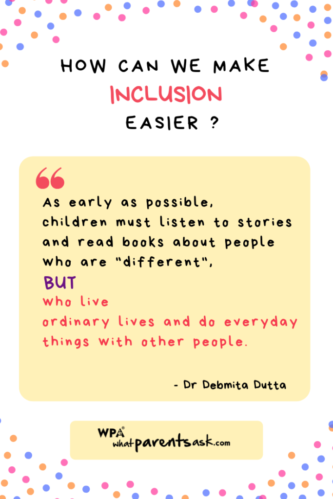 what is the best way to create an inclusive environment