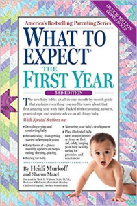 What to Expect the First Year Pregnancy Book