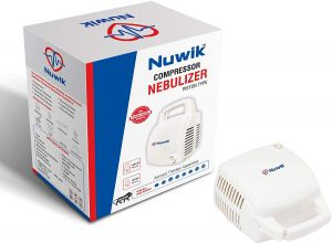 Nuwik Professional Series Piston Compressor Nebulizer