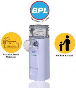 BPL Medical Breath Ezee N10 Vibrating Mesh Nebulizer