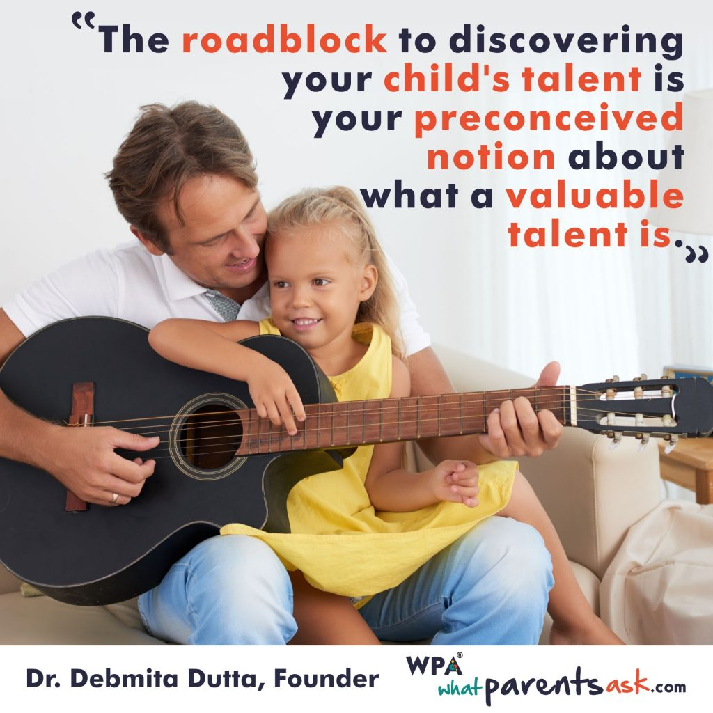Discover your child talent